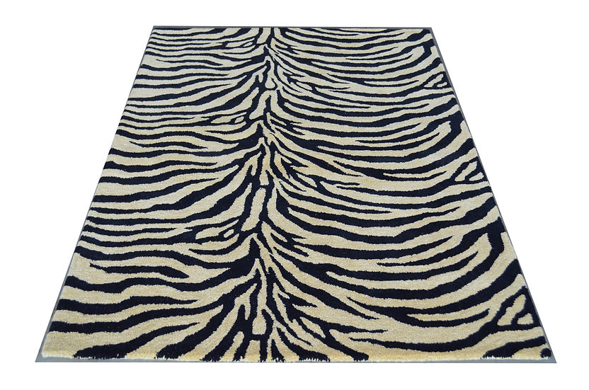 Tiger Design 208B, 100% Wolle,  African Style, Naturfaser