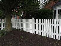 Amerifence Cedar Spaced Picket Fence