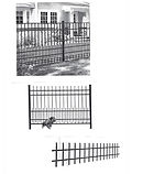 Amerifence Puppy picket aluminum fence sections