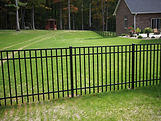 Amerifence Aluminum fence section