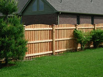 Amerifence Cedar Solid Privacy Fence
