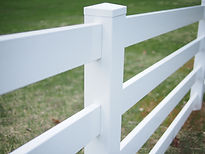 Amerifence Vinyl PVC Rail Fence