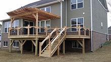 Amerifence Wood Cedar Deck