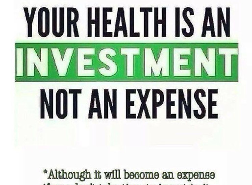 HEALTH: EXPENSE OR INVESTMENT