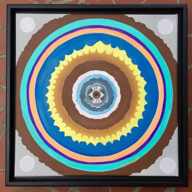 Eye Mandala, 2017