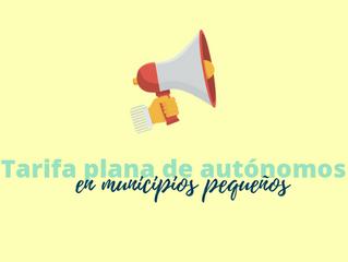 Ya puedes solicitar la ampliación de la tarifa plana para autónomos de municipios pequeños