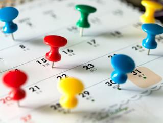 Calendario del contribuyente: septiembre 2019
