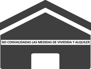 Tumbadas las medidas urgentes en vivienda y alquiler del RD-ley de diciembre.