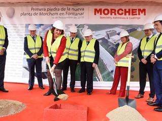 Morchem generará un centenar de empleos en su nueva fábrica en Fontanar