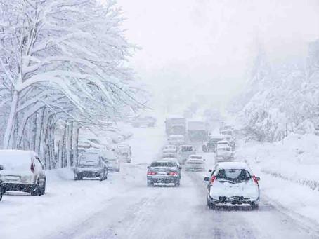 """Si conduces con nieve, """"que la Fuerza te acompañe"""""""