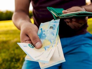 Se reduce el límite máximo para los pagos en efectivo de 2.500 a 1.000 euros