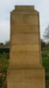 Clean Miners Memorial Arksey Cemetery