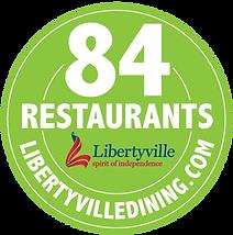 Libertyville 84 Restaurants