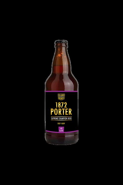 1872 Porter Case of 12x 500ml Bottles
