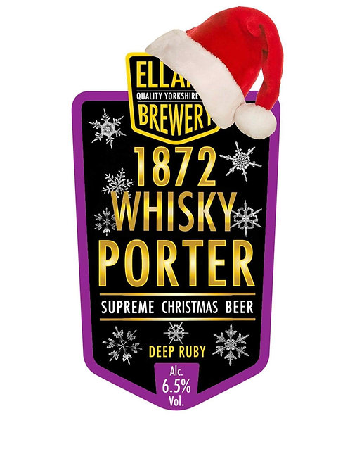 1872 Whisky Porter 6.5% - Bag in Box