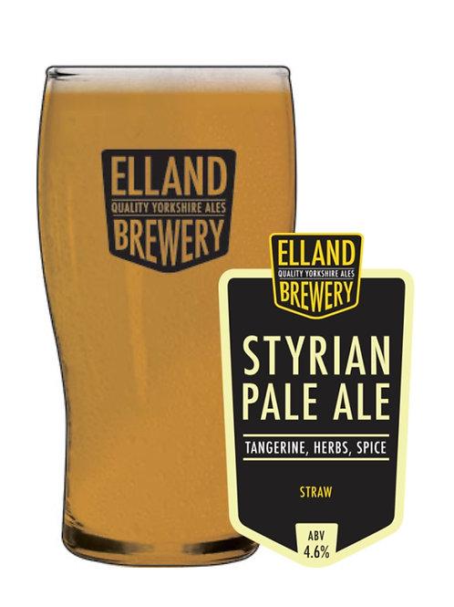 Styrian Pale Ale:  4.6%