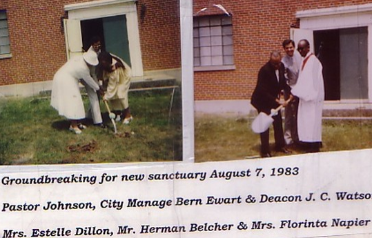 Groundbreaking on August 7, 1983