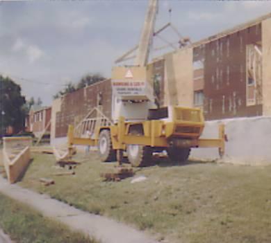 Construction began in 1983