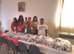 Hygiene packs for grateful persons