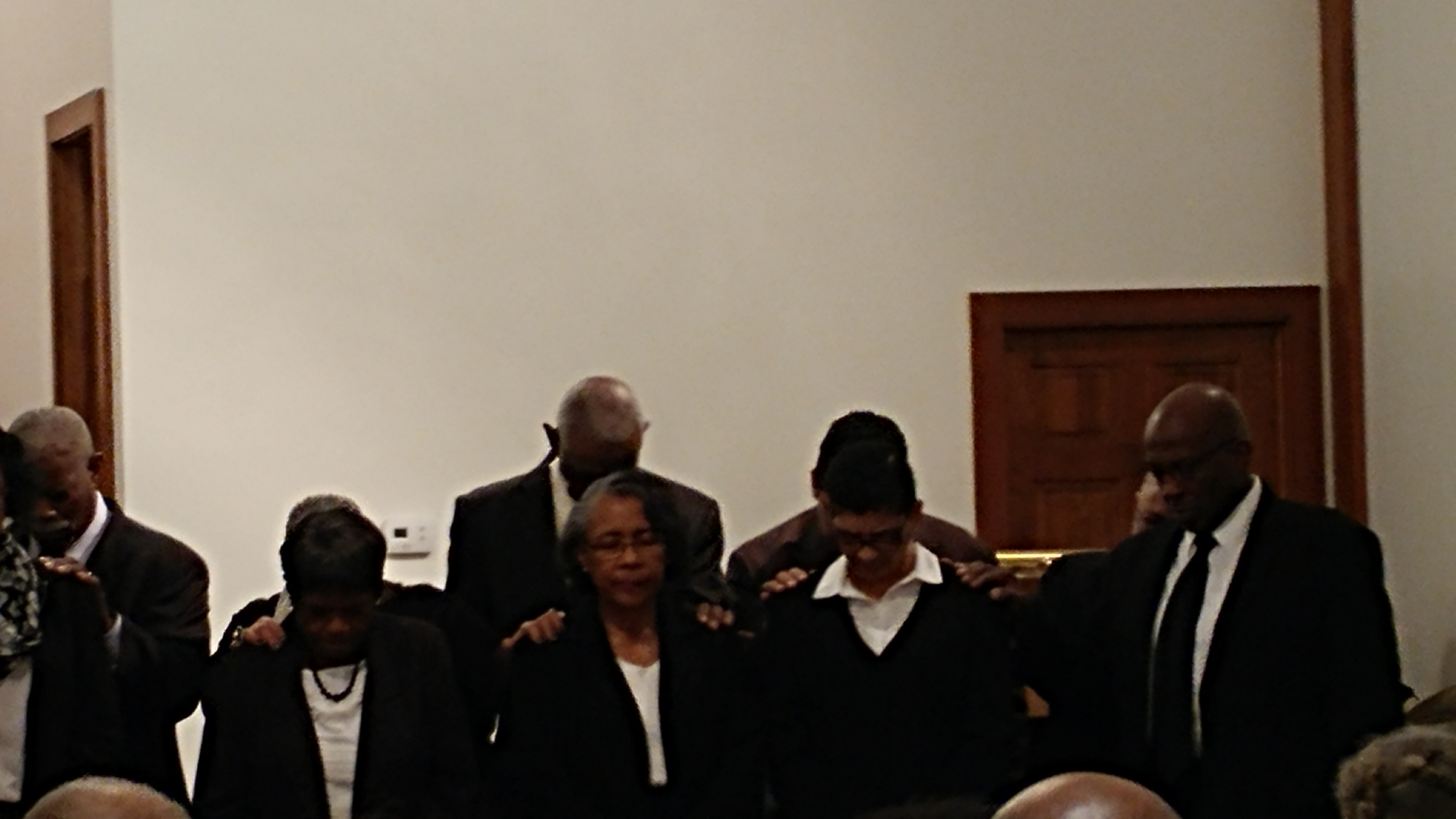 Praying with Candidates