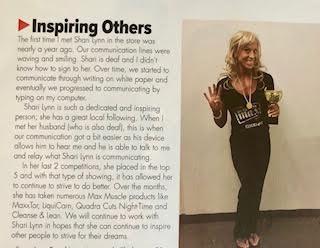 Max Muscle Magazine