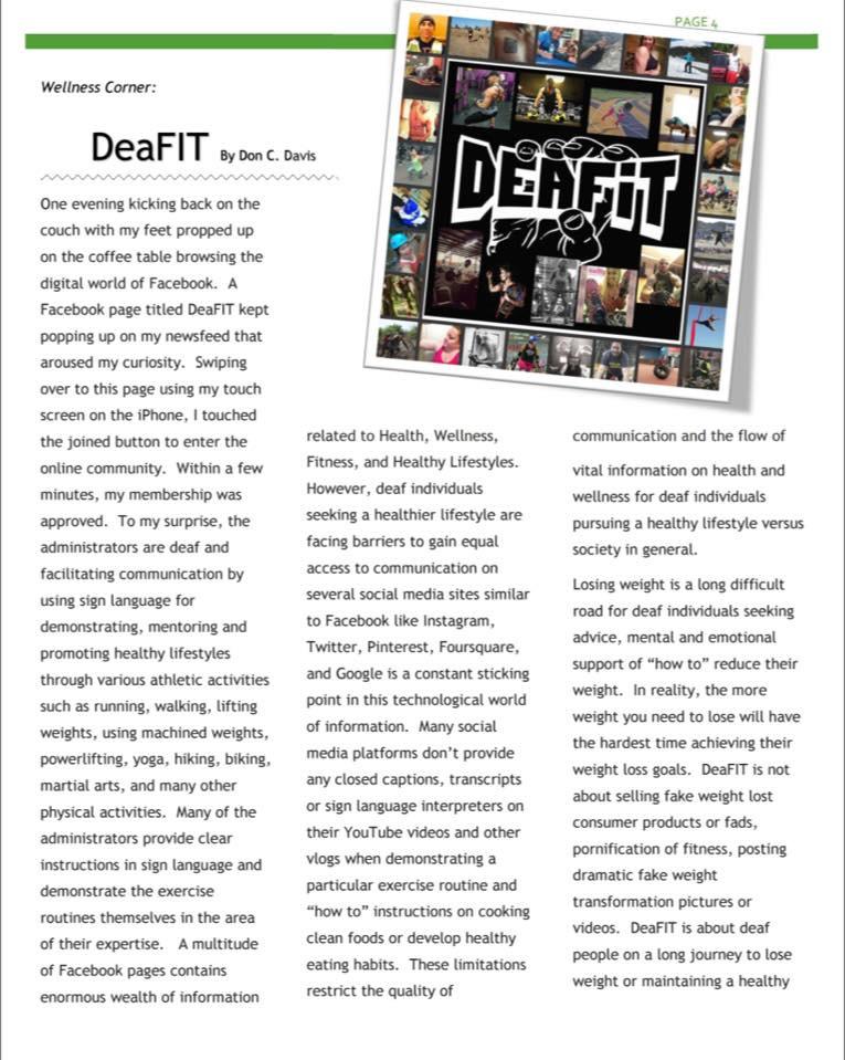 Washington State Assoication Of The Deaf