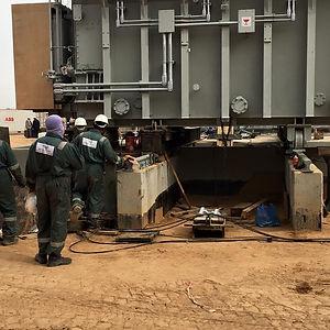 Heavy lifting SCECO Jedha Saudi Arabia