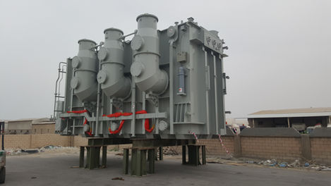 FTE Heavylift Saudi Arabia Transformer Service