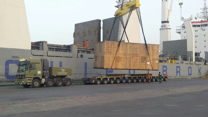 FTE Heavylift Shyba Aramco Project