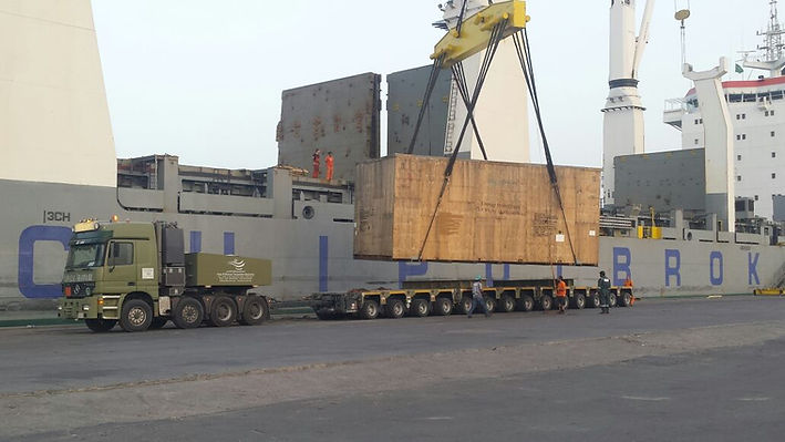 FTE Heavylift Shyba Aramco Project
