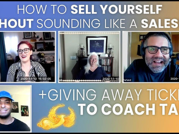 Sell Yourself Without Sounding Like a Salesman