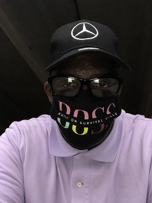 Built On Survival Skills Mask (Pink Label)