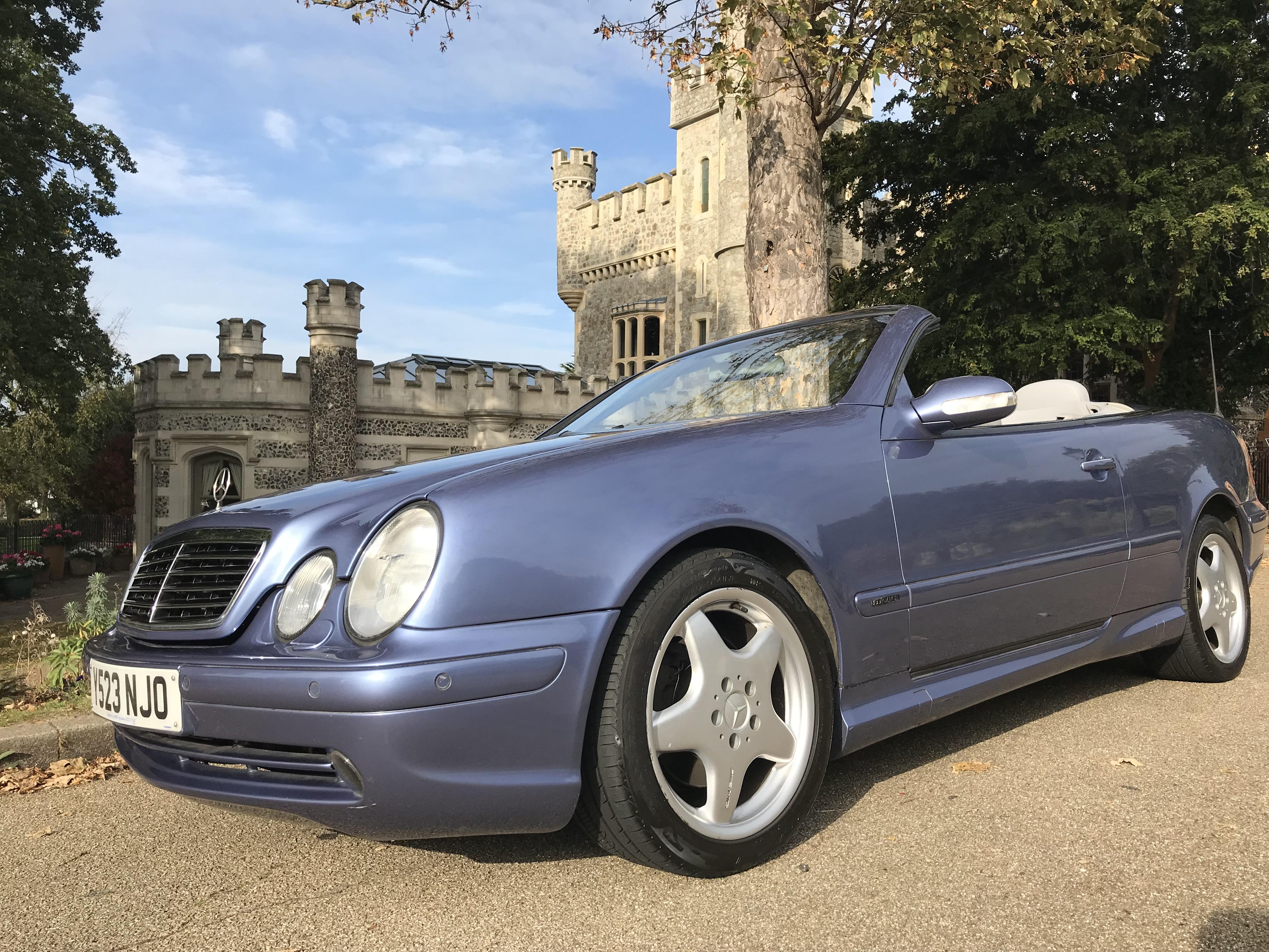 Mercedes CLK Cabrio 020