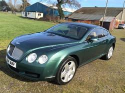 Benhtley Cont GT Cypress Green