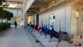 沖縄最強24時間ジムシーサーフィット365|本日も読谷高校ラグビー部で楽しいトレーニング!