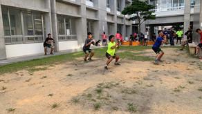 沖縄最強24時間ジムシーサーフィット365|今週の読谷高校ラグビー部!!
