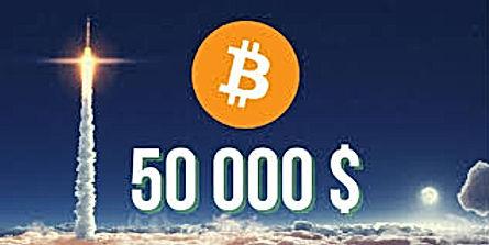 Bitcoin price breaks $50.000