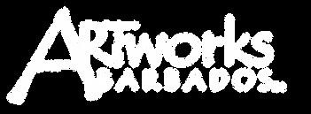 ARTworksBarbados logo TM white font tran