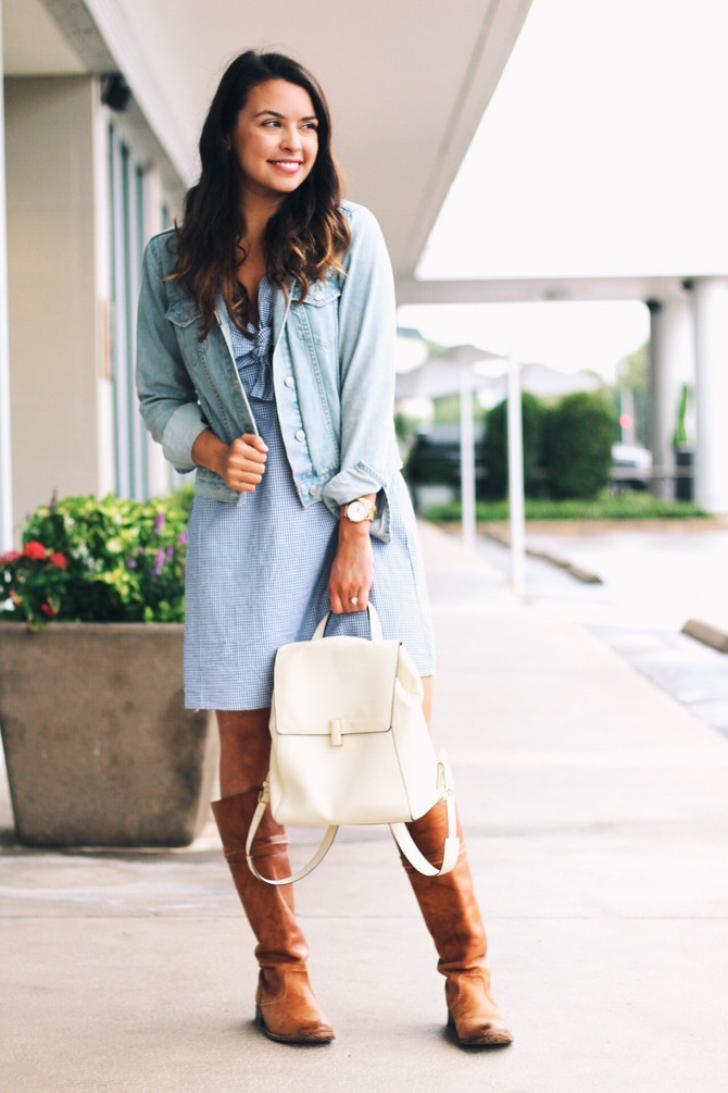 Gingham with a little extra STYLE
