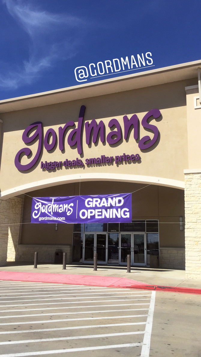 Gordmans Grand Opening in Rosenberg