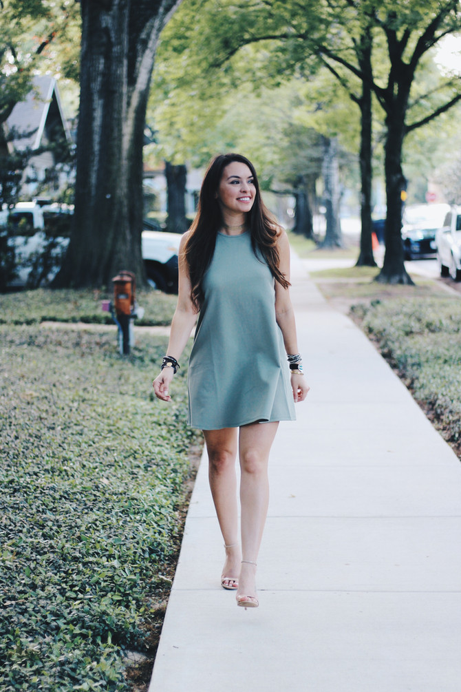The Perfect Little Green Dress