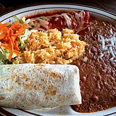 2. Enchilada and Burrito