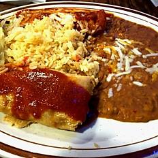 4. Enchilada and Tamale