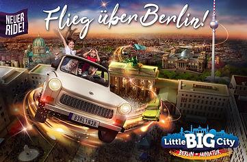 Flieg über Berlin Little Big City Storytelling Text Show