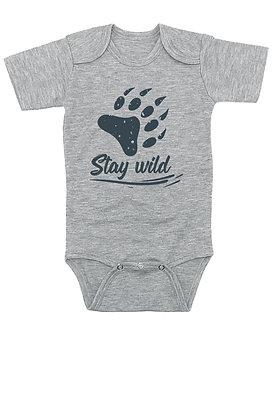 Stay Wild - Bear Claw - Onesie/Bodysuit