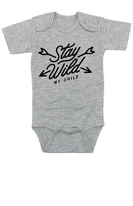 Stay Wild My Child - Onesie/Bodysuit