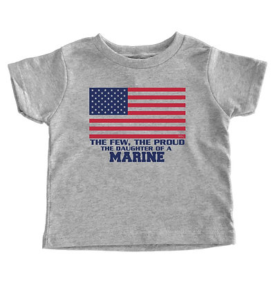 The Few, The Proud 'Son/Daughter' Of A Marine - Customizable Toddler T-Shirt