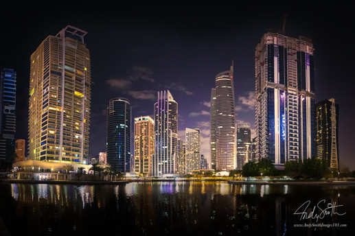 Early Evening in JLT Dubai
