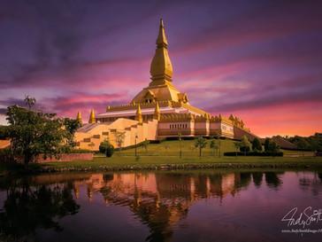 Pagoda Mahabua, Roi Et City, North Eastern Thailand