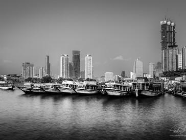 Chao Phraya River Boats, Bangkok, Thailand